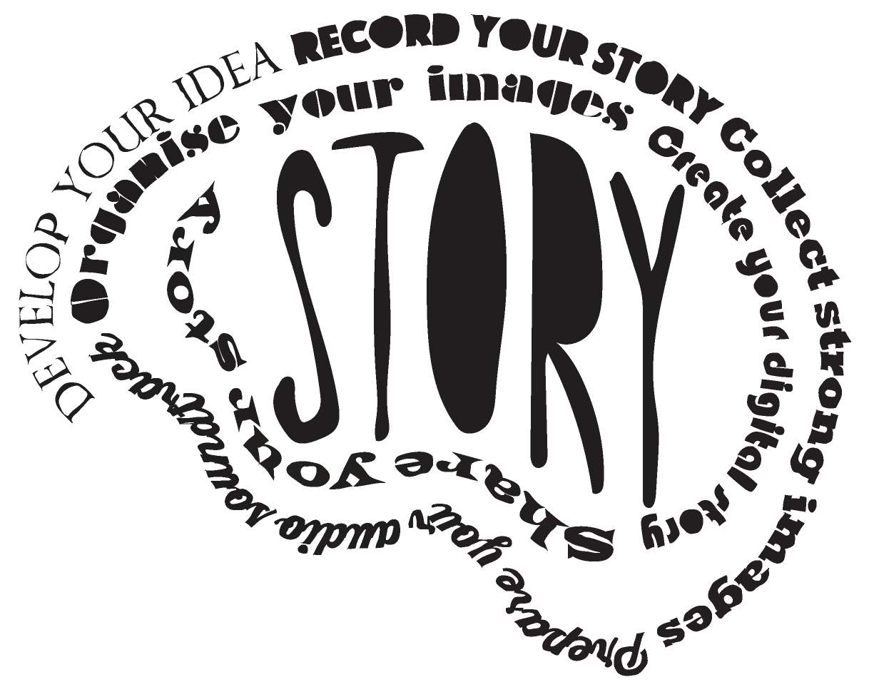 Develop your idea, record your story
